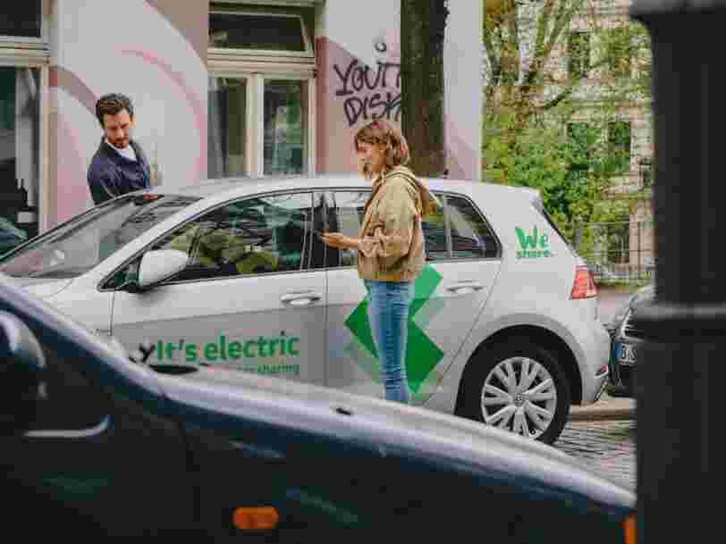 Volkswagen défie Renault, PSA ou Daimler avec son service d'auto-partage à Paris