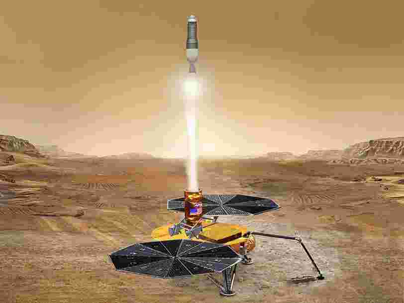 La NASA recrute un responsable pour superviser la première mission de retour d'échantillons de Mars
