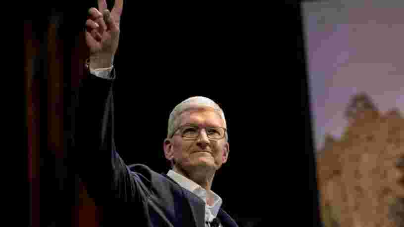 Apple affiche des résultats records grâce au rebond des ventes d'iPhone