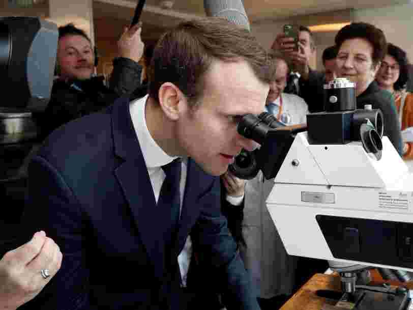 Emmanuel Macron dit qu'il existe un risque à ce que les talents en IA soient comme lui, des 'mâles blancs quadragénaires'