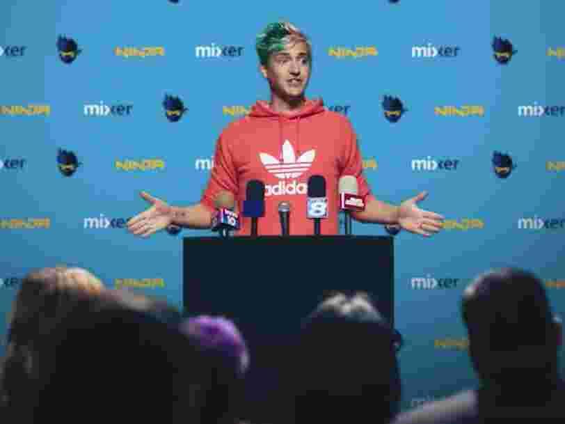 Le streamer 'Ninja' aurait touché entre 20 et 30 M$ pour quitter Twitch et rejoindre le service de Microsoft
