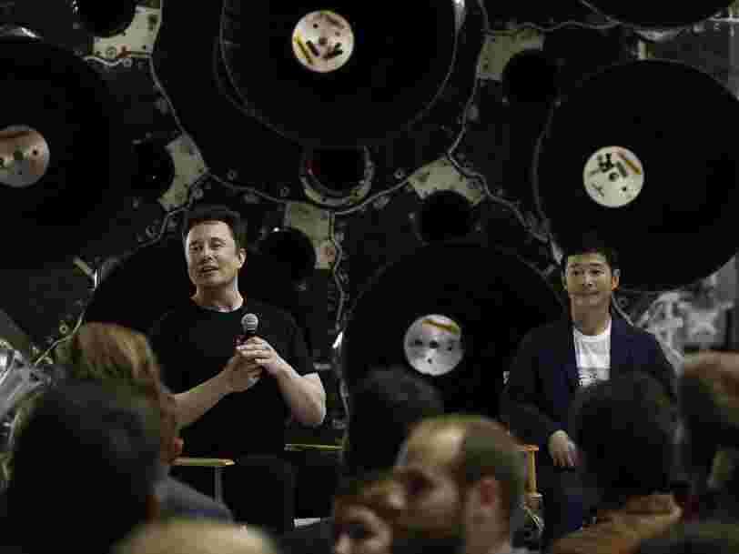 Le milliardaire japonais qui fera le tour de la Lune avec SpaceX abandonne sa quête pour trouver une partenaire de voyage