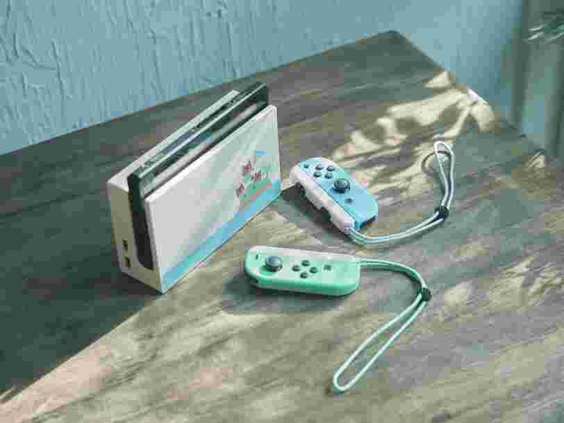 Nintendo va sortir une Switch aux couleurs d''Animal Crossing: New Horizons'