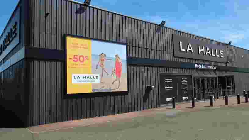 L'enseigne La Halle envisage la suppression de 101 emplois
