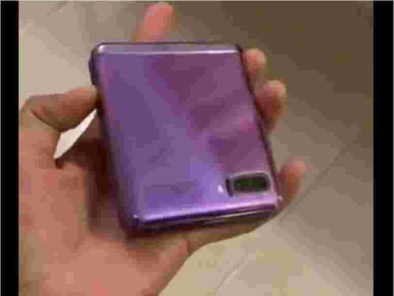 Une vidéo dévoilerait le prochain smartphone 'Galaxy Z Flip' de Samsung