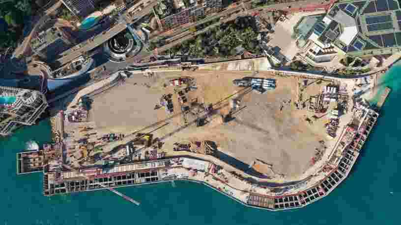 Un chantier à 2 Mds€ va permettre à Monaco de gagner 6 ha de plus sur la mer, voici à quoi il ressemble