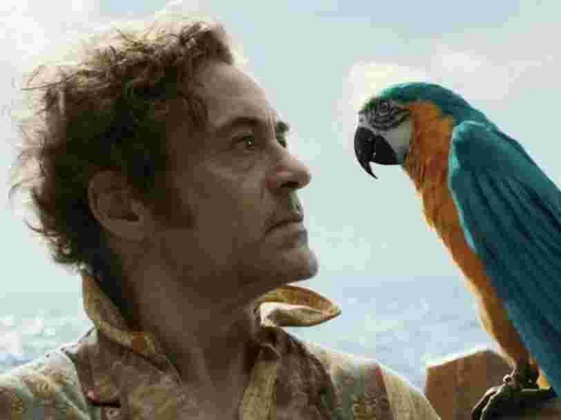 'Dr Dolittle', le premier film de Robert Downey Jr. depuis 'Avengers', pourrait faire perdre jusqu'à 100M$ à Universal