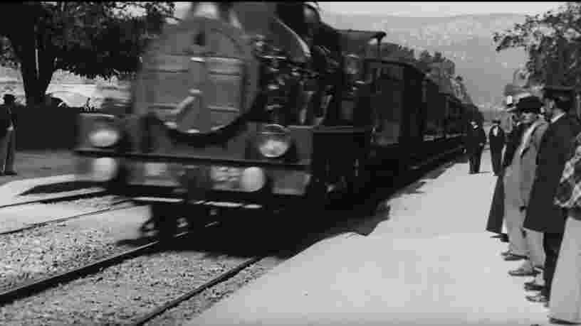 L'IA permet de reproduire en 4K 'L'arrivée d'un train en gare de la Ciotat' des frères Lumière