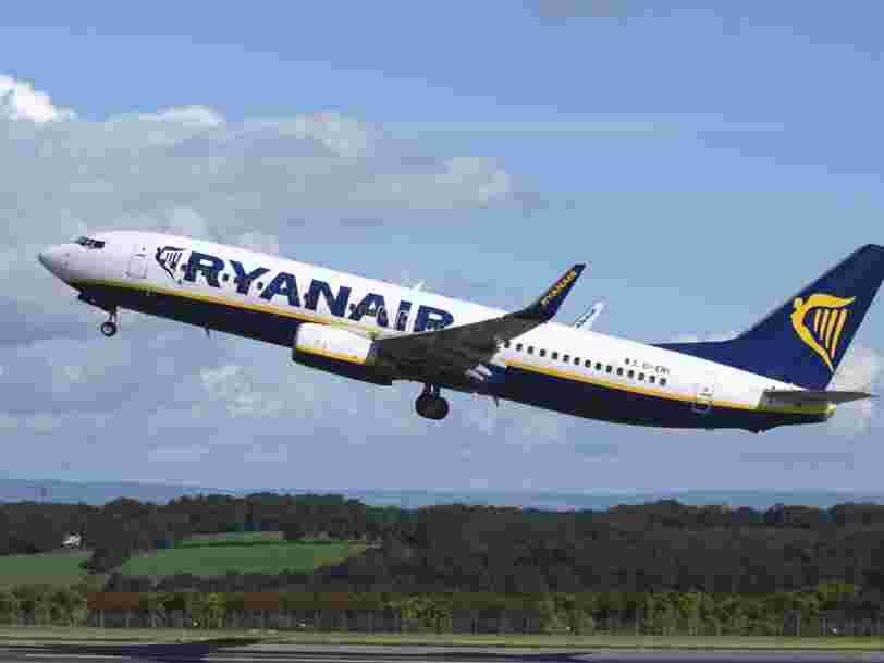Ryanair mise en cause pour des publicités trompeuses sur son impact environnemental
