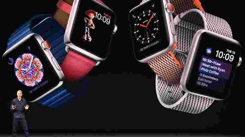Apple aurait vendu plus de montres que tous les horlogers suisses en 2019