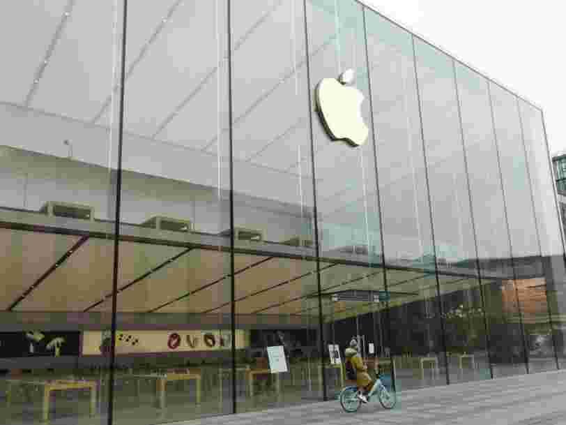 Apple condamné à une amende de 25 M€ pour avoir ralenti d'anciens modèles d'iPhone