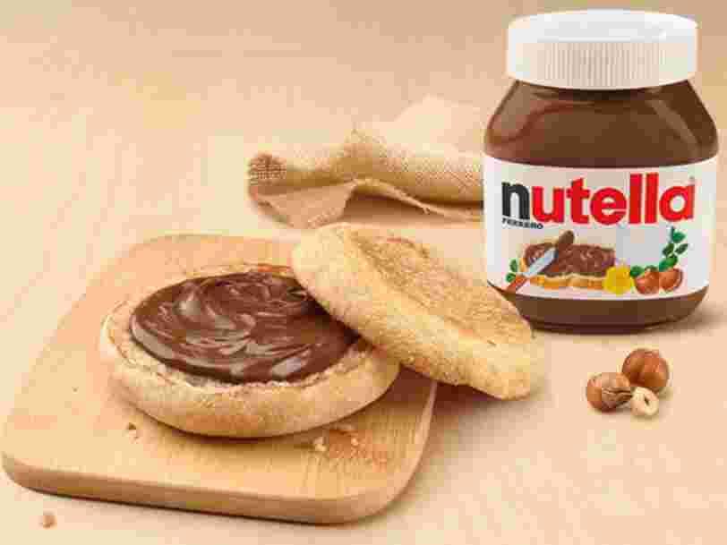 McDonald's et Ferrero s'allient en Italie pour lancer le McNutella
