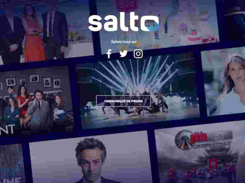 Prix, date, programmes... Ce qu'on sait déjà sur Salto, la plateforme de TF1, France TV et M6