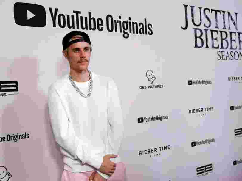 Justin Bieber vient de battre un record avec sa série documentaire produite par YouTube
