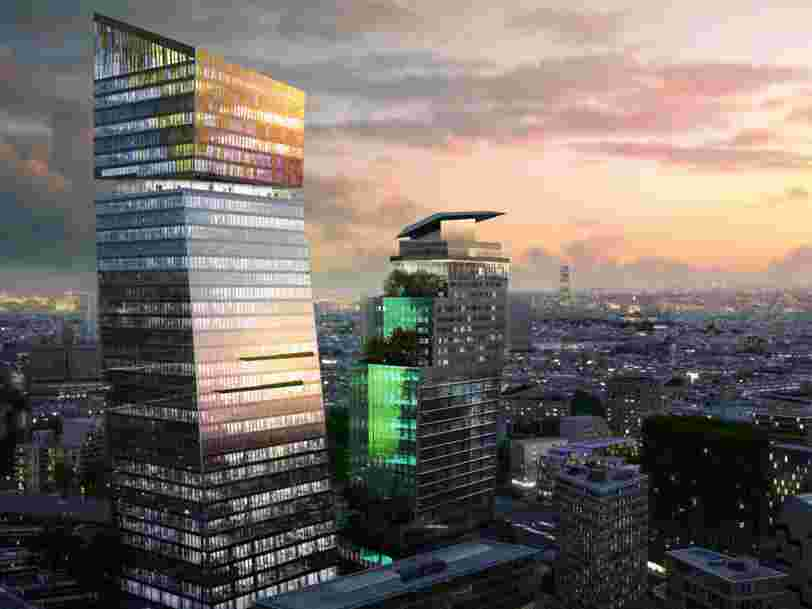 14 gratte-ciels de plus de 100 mètres de haut qui vont bientôt sortir de terre en France