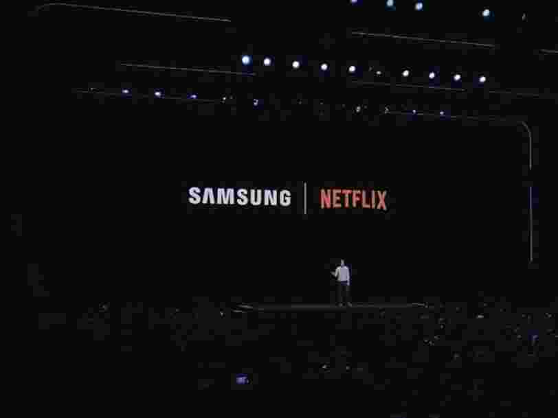 Samsung annonce un partenariat avec Netflix, avec des contenus exclusifs à la clé