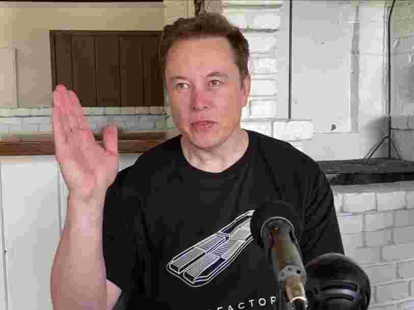 Elon Musk a déclaré que son pire job était si dangereux qu'il l'exposait au risque d'hyperthermie