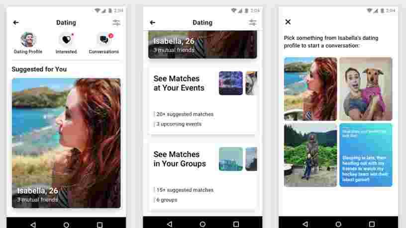 Saint-Valentin : Facebook retarde le lancement de son service de rencontre 'Facebook Dating' en Europe