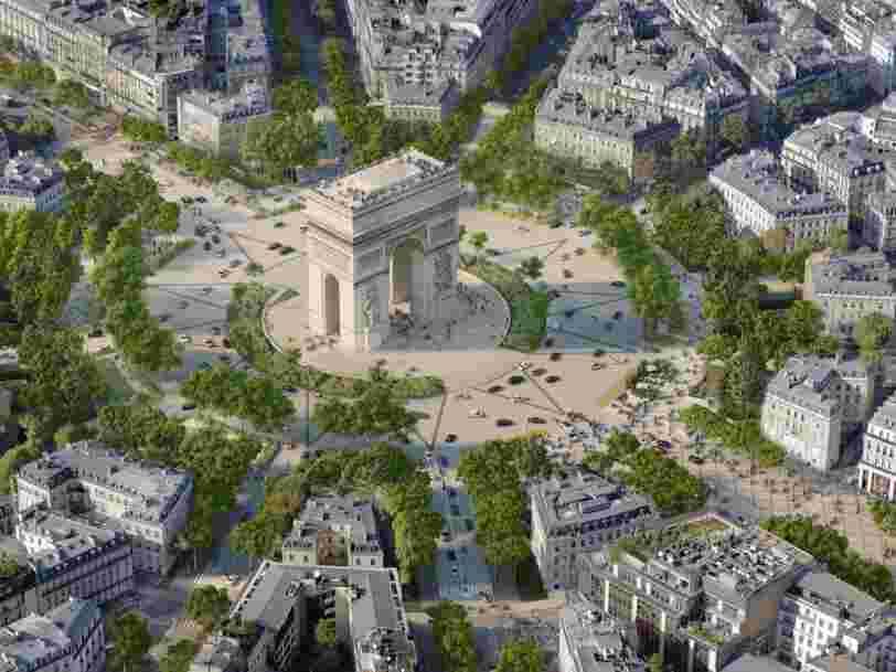Voici à quoi pourraient ressembler les Champs-Elysées en 2030