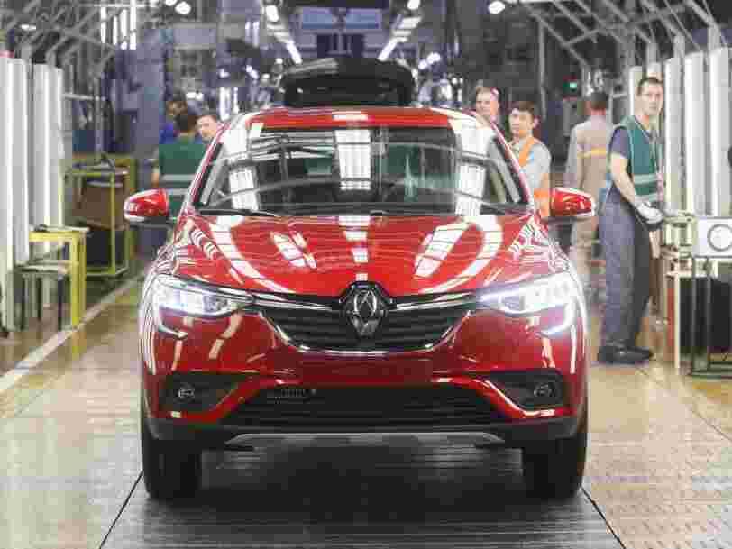 Renault subit des pertes pour la première fois en 10 ans, son action chute