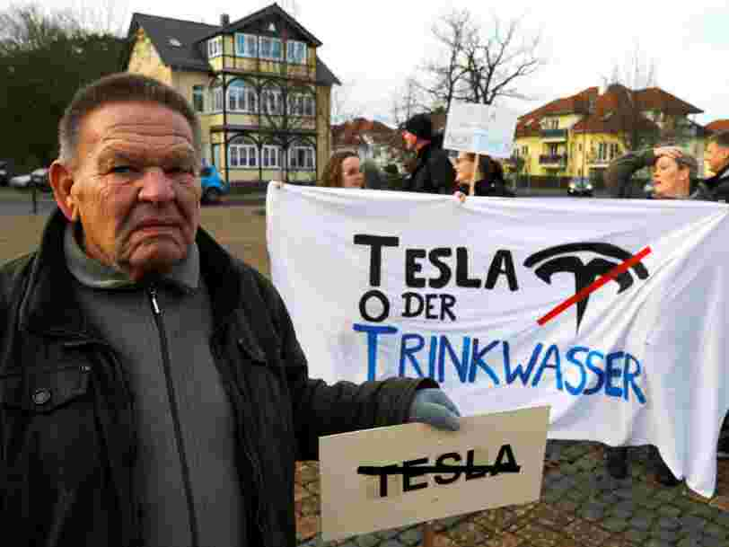 Tesla contraint de suspendre la construction de sa Gigafactory européenne après la plainte d'une association écologiste
