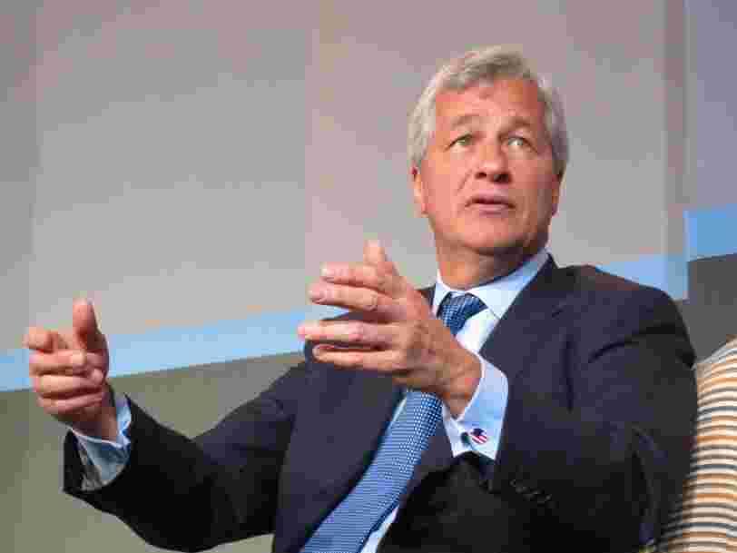 La banque américaine JPMorgan fait moins bien qu'attendu au 4e trimestre