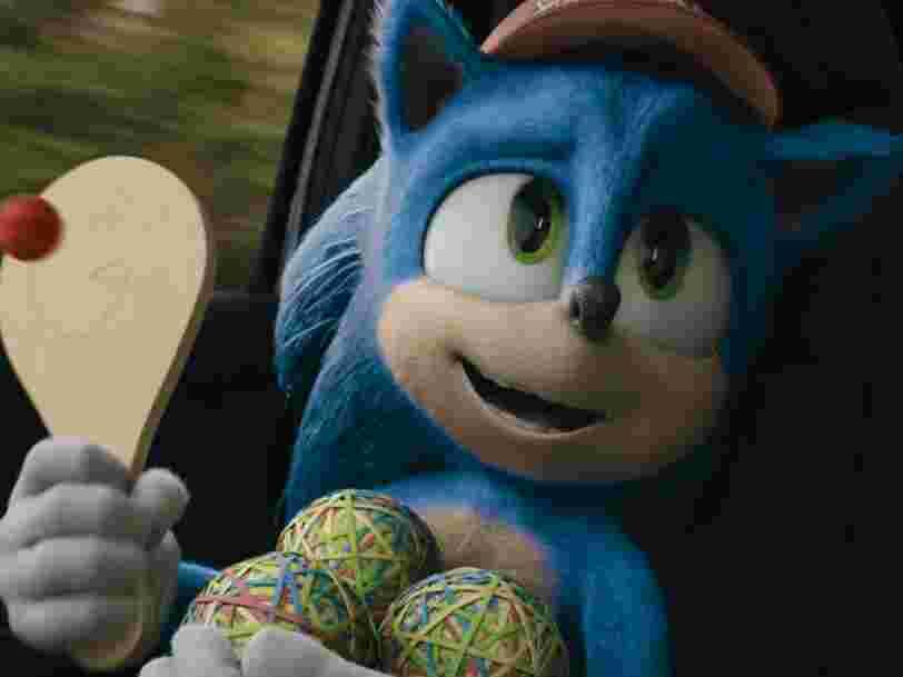 'Sonic, le film' réalise le plus gros démarrage au box-office pour un film tiré d'un jeu vidéo