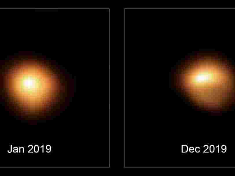 Ces 3 hypothèses expliqueraient pourquoi l'étoile Bételgeuse connaît une baisse de luminosité flagrante
