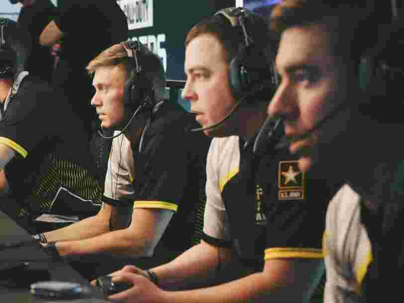 L'armée américaine compte sur son équipe d'eSport pour trouver de nouvelles recrues