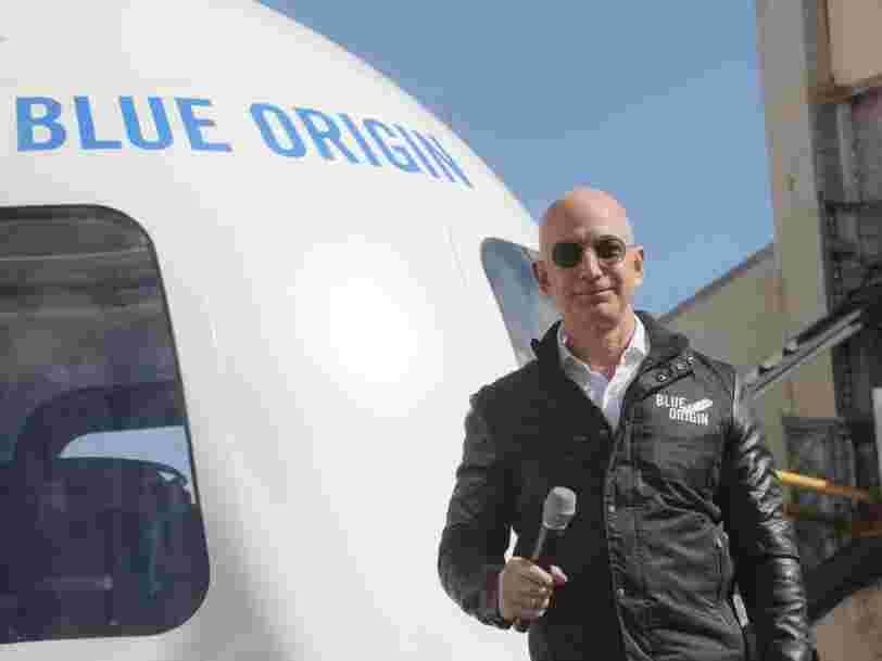 L'entreprise spatiale de Jeff Bezos ouvre une nouvelle usine pour produire des moteurs de fusées