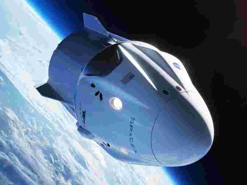 SpaceX va envoyer des touristes dans l'espace d'ici 2022 mais il faudra être riche pour s'offrir un billet