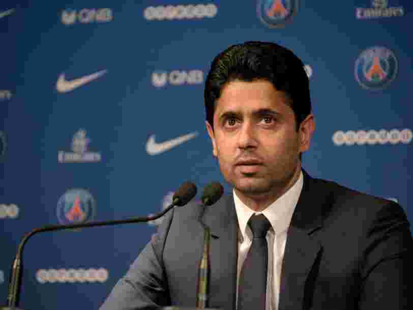 Le président du PSG Nasser Al-Khelaïfi inculpé dans une affaire de corruption par la justice suisse
