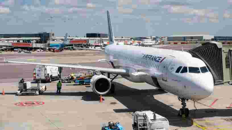 L'impact du coronavirus sur les comptes d'Air France estimé entre 150 et 200 M€ d'ici avril