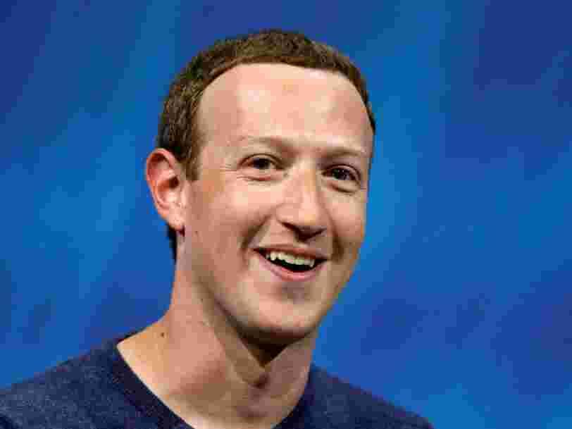 Voici à quoi ressemble la journée classique de Mark Zuckerberg, le patron de Facebook
