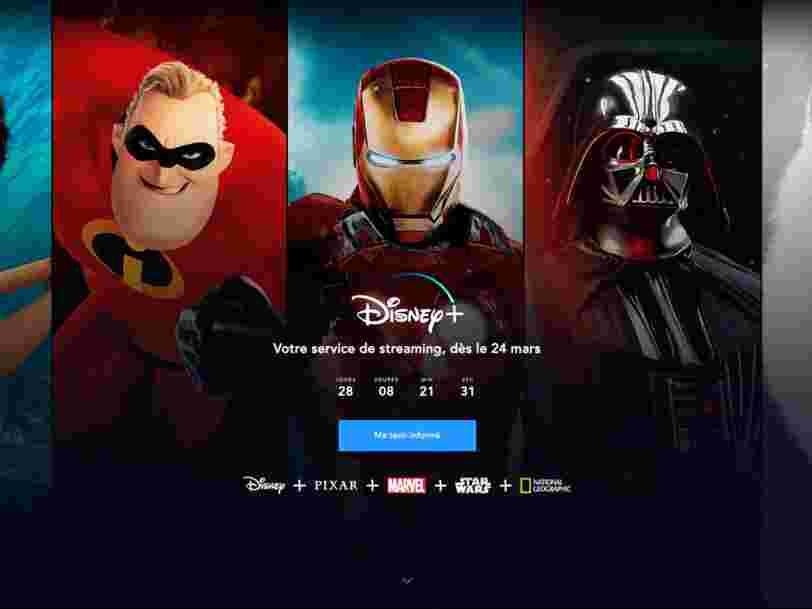 Ceux qui précommandent leur abonnement à Disney+ pourraient bénéficier d'un prix réduit