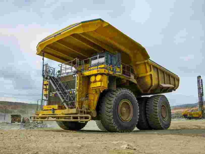 Le plus grand véhicule électrique du monde est un camion à benne de 290 tonnes
