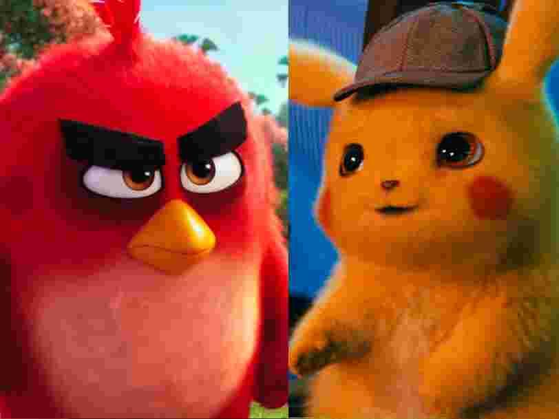 'Sonic', 'Angry Birds', 'Pikachu'... Les films adaptés de jeux vidéo, classés du pire au meilleur