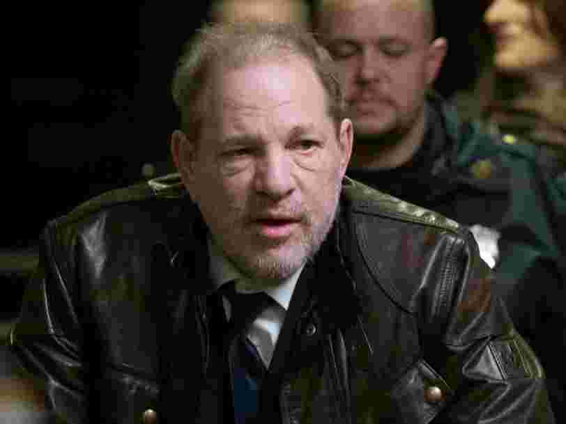 Harvey Weinstein a été reconnu coupable de viol et d'agression sexuelle, voici les réactions des célébrités et des victimes