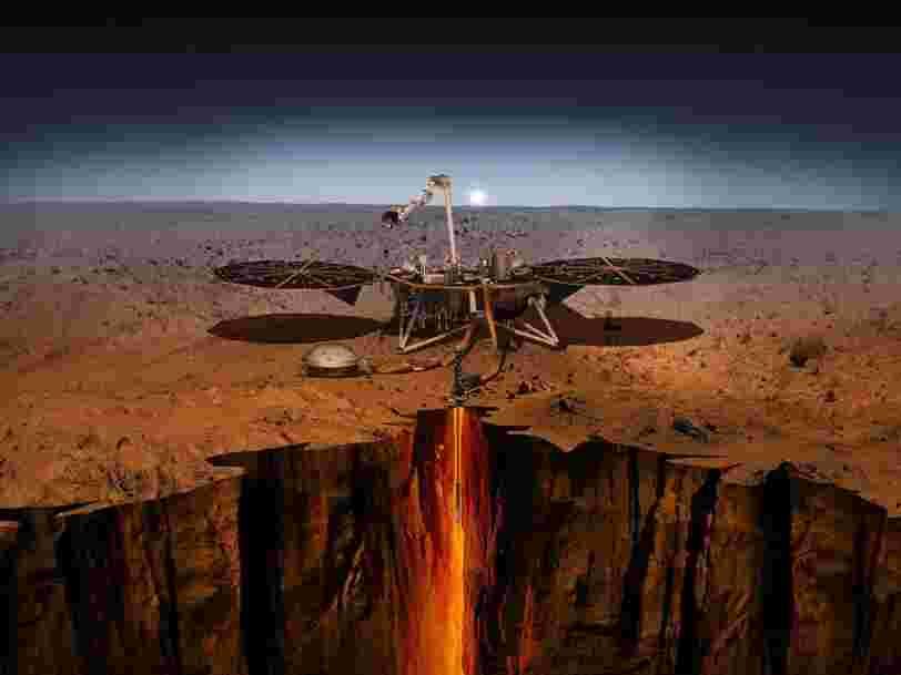 L'atterrisseur InSight de la NASA révèle que Mars serait beaucoup plus fragile que nous le pensions