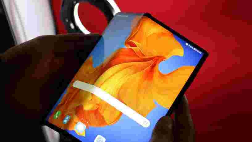 Huawei vient de lancer son nouveau téléphone pliable Mate Xs à 2 499€, sans les applications Google