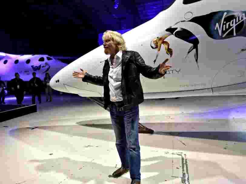 Virgin Galactic a déjà 7 957 personnes en liste d'attente pour faire un tour dans l'espace