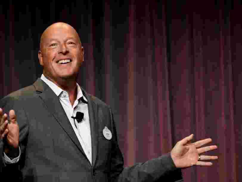 Bob Chapek prend la tête de Disney mais Bob Iger reste impliqué dans la société