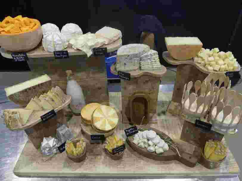 Voici les plus beaux plateaux de fromages qui étaient en compétition lors du Salon du fromage