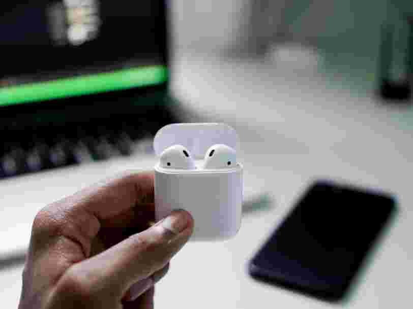 Apple serait sur le point de sortir de nouveaux AirPods... et les 6 autres choses à savoir dans la tech