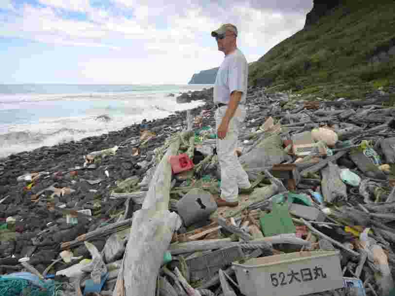 Le simple fait de conduire votre voiture peut augmenter la quantité de déchets plastiques dans l'océan