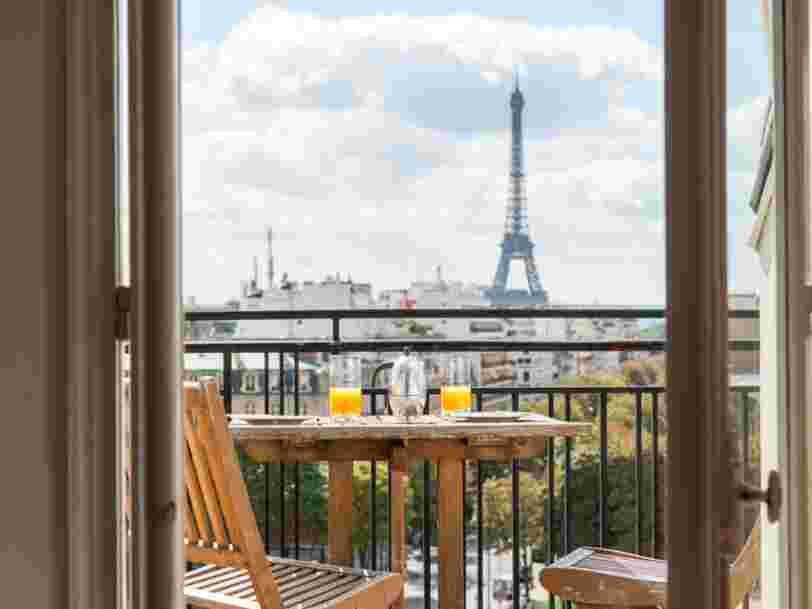Airbnb remporte une victoire importante face aux hôteliers français