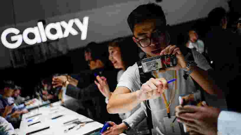 Samsung travaillerait sur un nouveau téléphone pliable... et les 6 autres choses à savoir dans la tech
