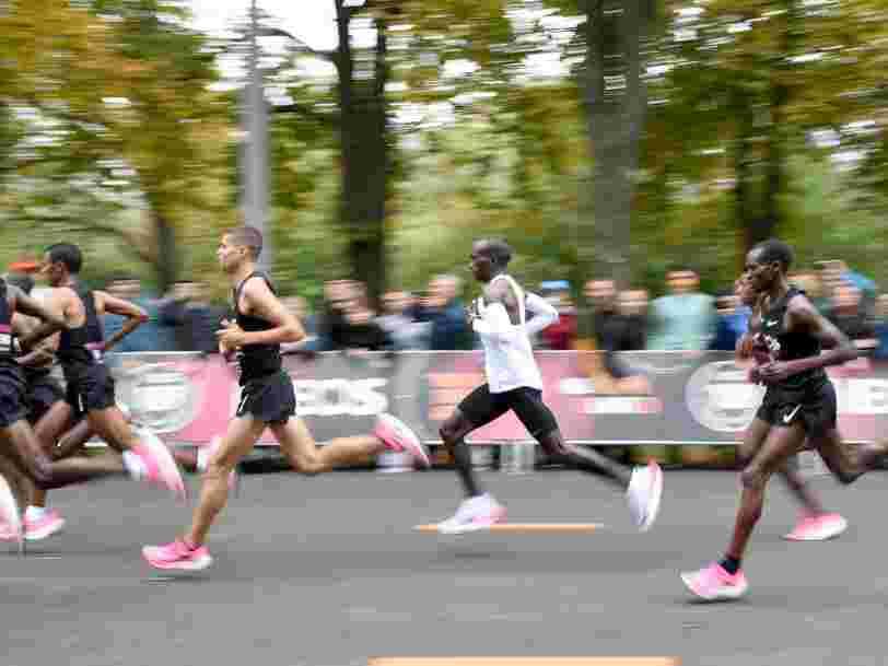 Ces baskets Nike font tomber les records du marathon et vous pouvez les acheter en ligne