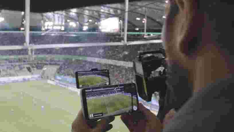 La startup française Immersiv.io vient de franchir un pas pour que vous puissiez regarder un jour un match de foot en réalité augmentée