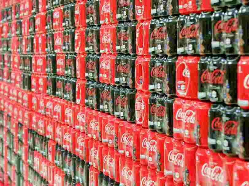Pourquoi Coca-Cola investit pour la première fois dans une startup française